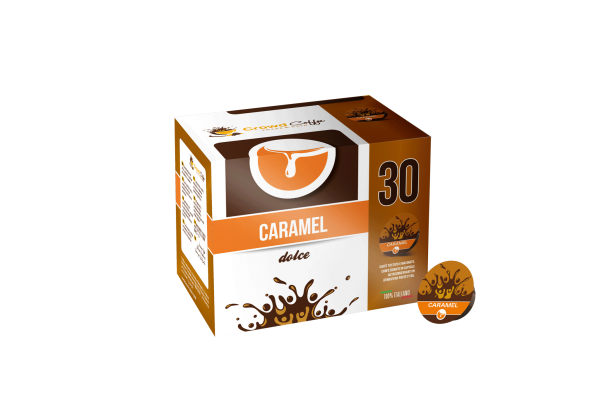 <p>A fanciful meeting between the sweet caramel and the unmistakable aroma of coffee.</p> <p><strong>Composition</strong></p> <p>50% Arabica 50% Robusta with caramel aroma</p>